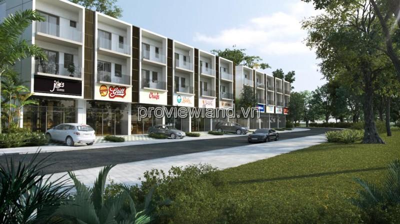 Biệt thự Palm Residence cho thuê có diện tích 260m2 3 tầng sân vườn 4 phòng ngủ