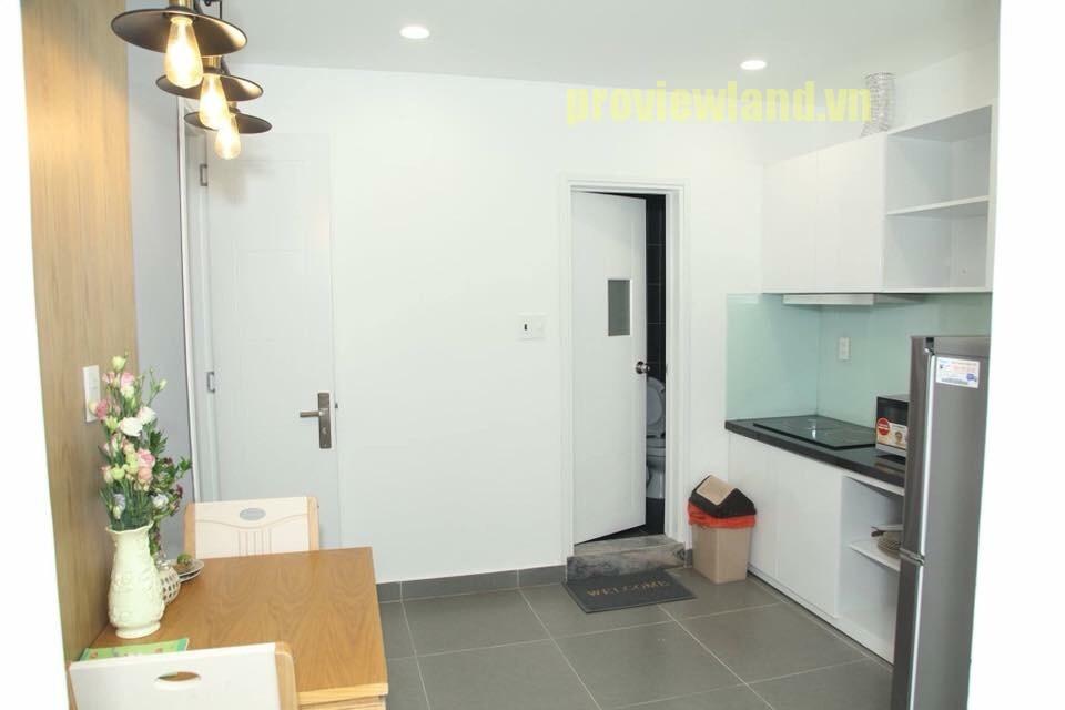 Cho thuê căn hộ dịch vụ quận 1 gồm 1 phòng ngủ có diện tích 30m2 đầy đủ tiện nghi