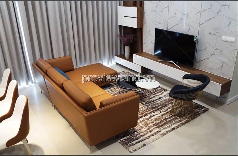 Căn hộ Gateway Thảo Điền 4 phòng ngủ có diện tích 146m2 tầng cao