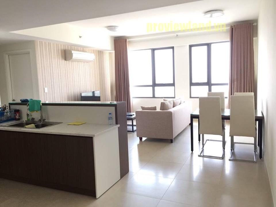 Căn hộ Masteri Thảo Điền cho thuê gồm 3 phòng ngủ 2 phòng tắm view đẹp