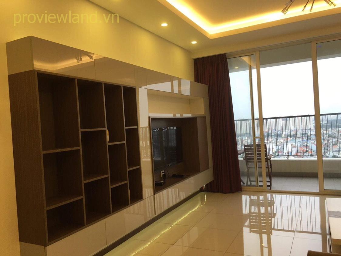 Cho thuê căn hộ cao cấp Thảo Điền Pearl diện tích 115m2 2 phòng ngủ nội thất đầy đủ