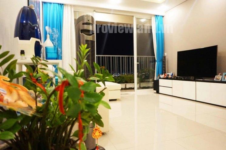 Cần bán căn hộ cao cấp tại Thảo Điền Pearl có diện tích 106m2 gồm 2 phòng ngủ ban công dài