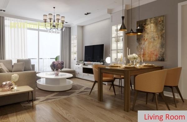 Vinhomes Central Park cần bán căn hộ với 3 phòng ngủ diện tích 115m2 có view đẹp