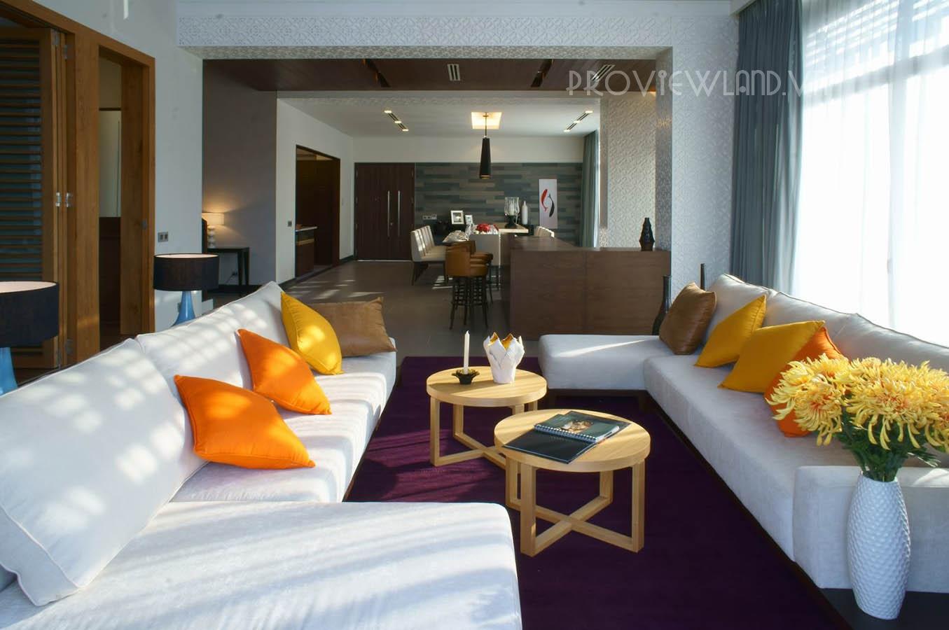 Biệt thự Riviera Cove cho thuê tại Quận 9 diện tích 442m2 với 4 phòng ngủ