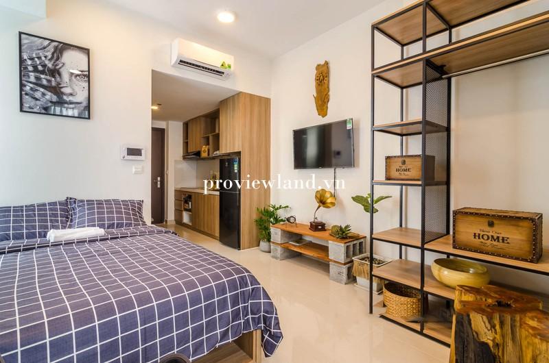 Cho thuê căn hộ dịch vụ Rivergate Quận 4 1 phòng ngủ nội thất đầy đủ