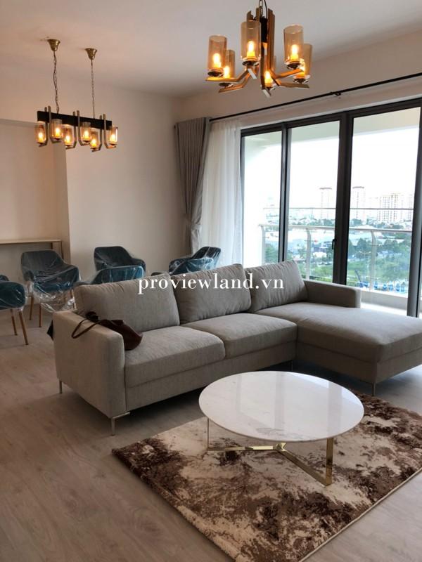 Căn hộ GateWay Thảo Điền cho thuê 4 phòng ngủ nội thất mới 100%