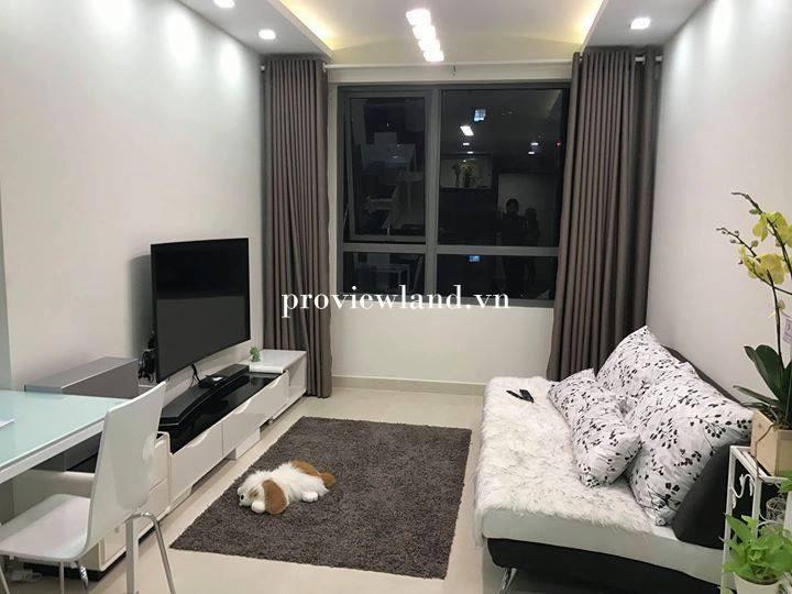Căn hộ Masteri Thảo Điền cho thuê 1 phòng ngủ nội thất đẹp