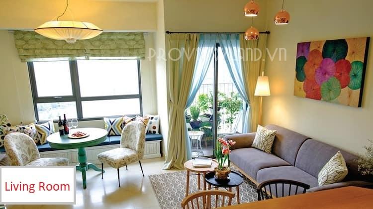 Cần cho thuê căn hộ Masteri Thảo Điền 2 phòng ngủ view đẹp nội thất đầy đủ
