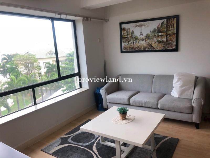 Cho thuê căn hộ Parklnad có diện tích 60m2 1 phòng ngủ nội thất đầy đủ