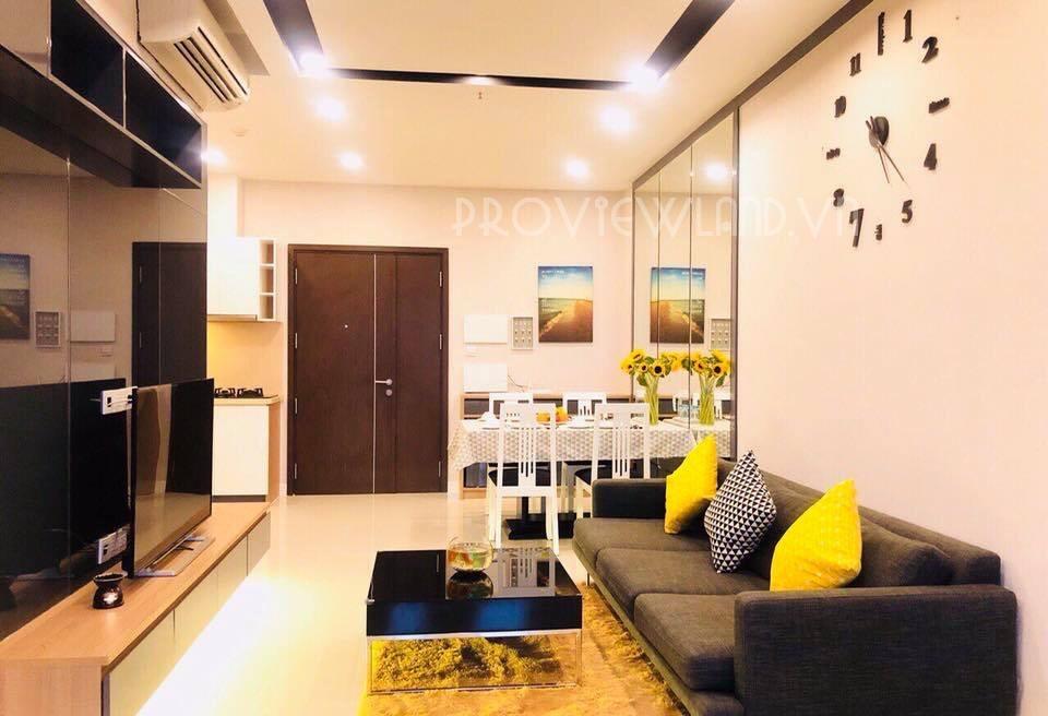 Căn hộ 1 phòng ngủ cho thuê tại Prince Residence Phú Nhuận view sông