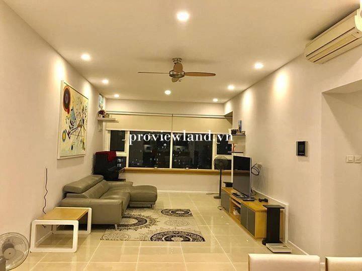 Cho thuê căn hộ Saigon Pearl 3 phòng ngủ diện tích 120m2 nội thất đầy đủ