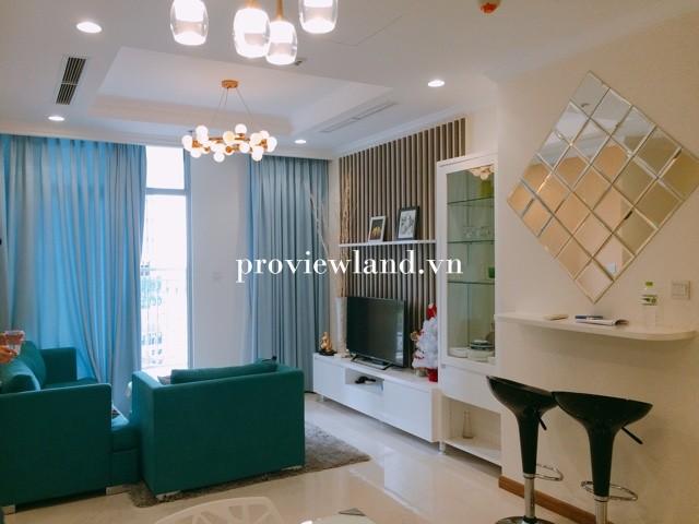 Căn hộ Vinhomes Tân Cảng cho thuê có diện tích 100m2 2 phòng ngủ Full nội thất