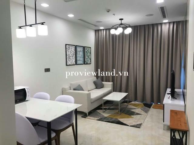 Cần cho thuê căn hộ Vinhomes Golden River 1 phòng ngủ 50m2 View sông Sài Gòn