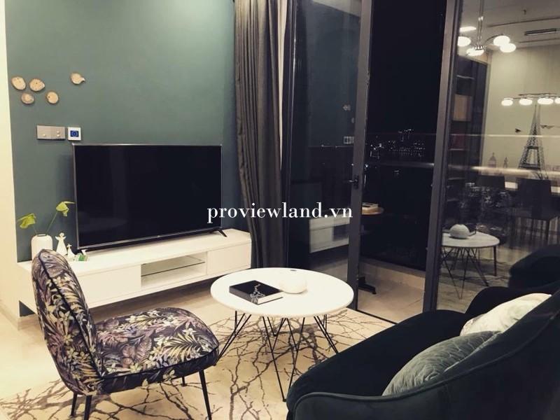 Căn hộ Vinhomes Golden River cho thuê 2 phòng ngủ nội thất cao cấp