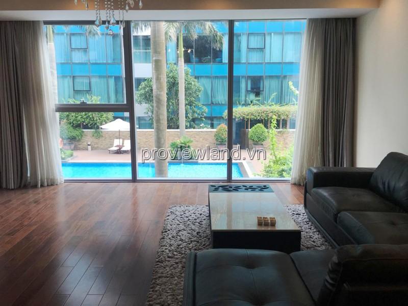Bán căn hộ Vincom Đồng Khởi Quận 1 4 phòng ngủ diện tích 195m2 view hồ bơi
