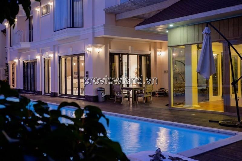 Biệt thự Thảo Điền bán có diện tích 1200m2 đất thổ cư sân vườn hồ bơi cực đẹp