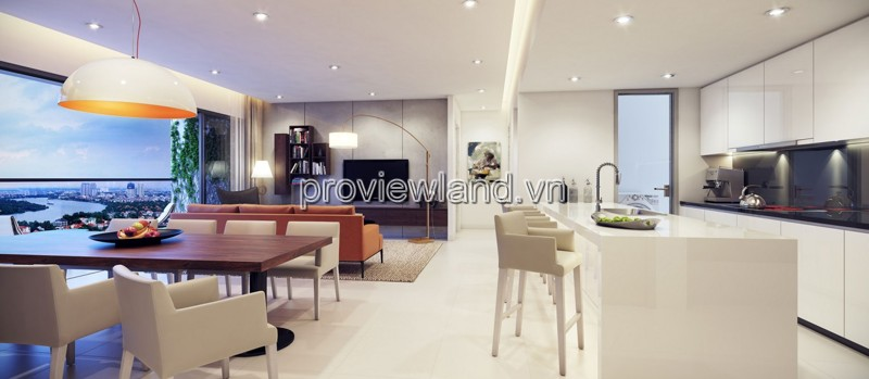 Apartment for sales Q2 Thao Dien area of 128m2 3 bedrooms