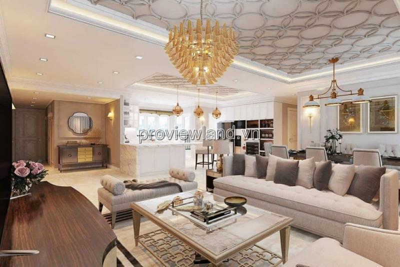 Cho thuê căn hộ Vista Verden tầng cao view sông diện tích 204m2 4 phòng ngủ