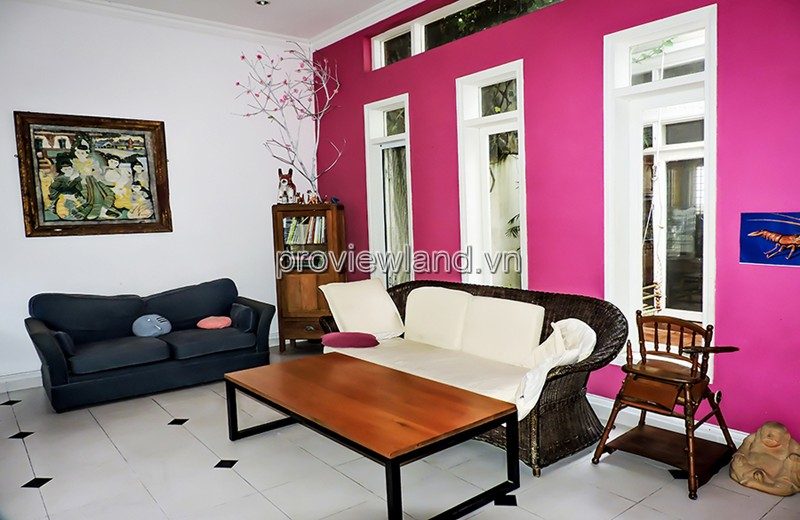 Nhà tại Thảo Điền cần bán với 1 tầng+Gác diện tích 198m2 3PN có sổ đỏ