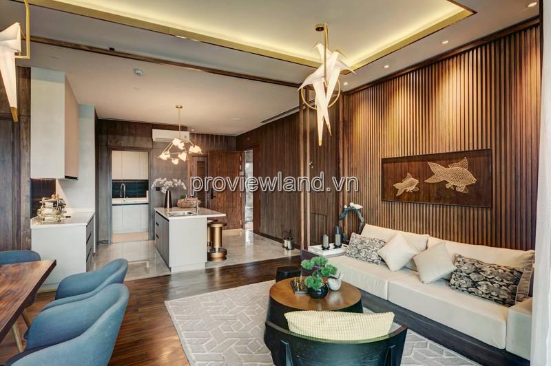 Bán căn hộ 3 phòng ngủ D'edge Thảo Điền diện tích 149m2 view sông