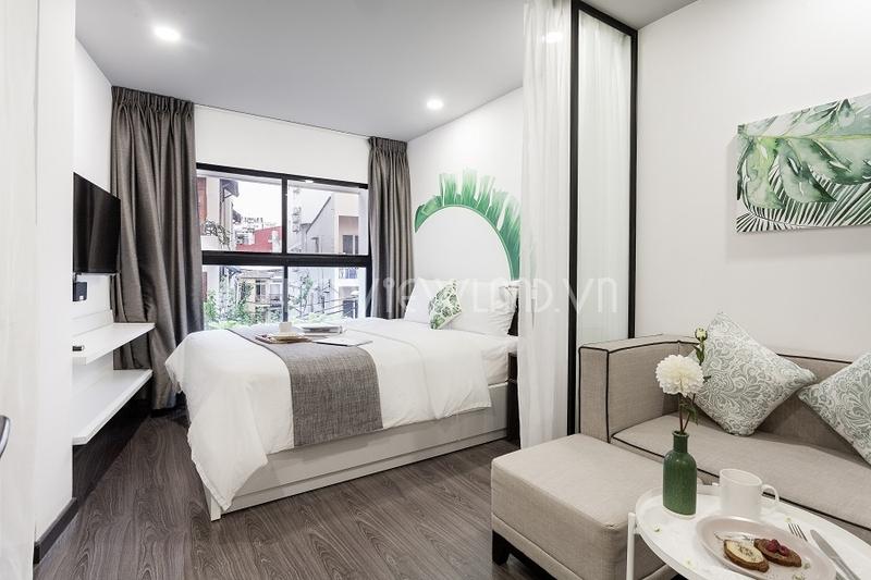 Cho thuê căn hộ dịch vụ đầy đủ tiện ích cao cấp giá tốt