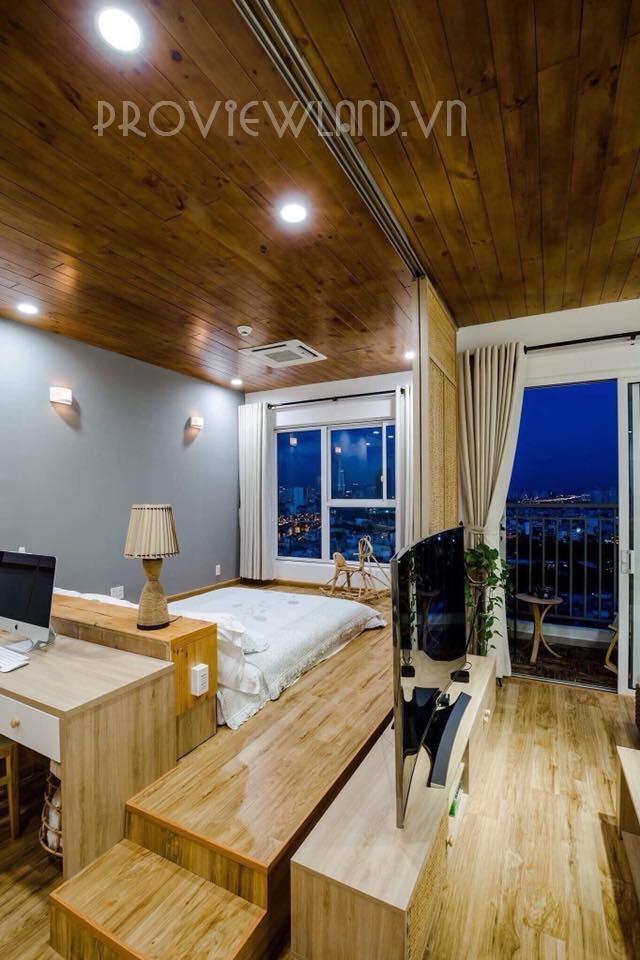 Cần cho thuê căn hộ dịch vụ Quận 4 bao gồm 1 phòng ngủ view đẹp