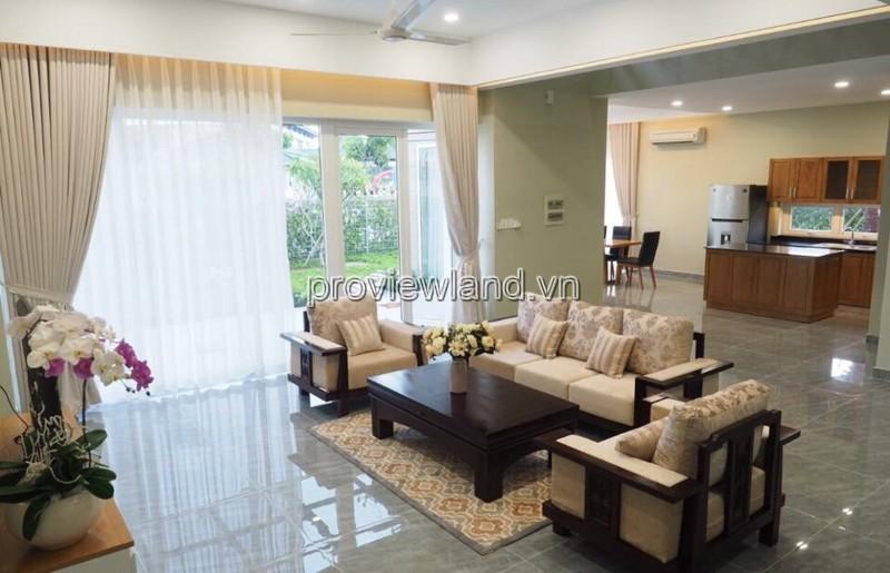 Cho thuê biệt thự Quận 9 Lê Văn Việt 4 phòng ngủ diện tích 600m2
