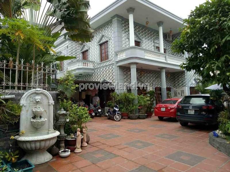 Cho thuê biệt thự đường 43 Thảo Điền 2 tầng 3 phòng ngủ 500m2 hồ bơi sân vườn