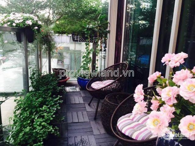 Cần cho thuê căn hộ 168m2 có sân vườn view hồ bơi 3 phòng ngủ dự an The Vista