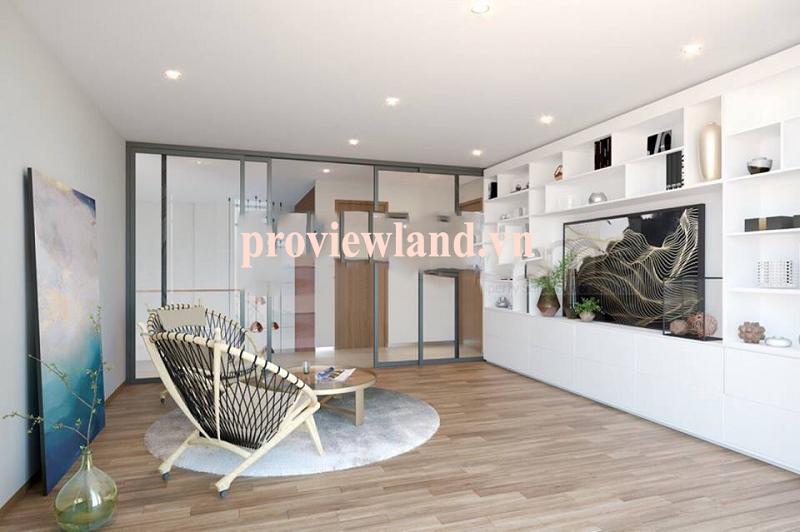 Căn hộ Penthouse City Garden cần cho thuê với 320m2 diện tích 2 tầng 3 phòng ngủ