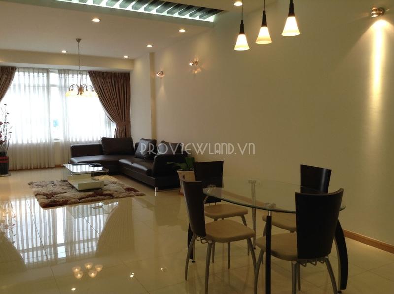 Căn hộ Saigon Pearl tháp Topaz 2 cần bán 3 phòng ngủ tầng cao view sông