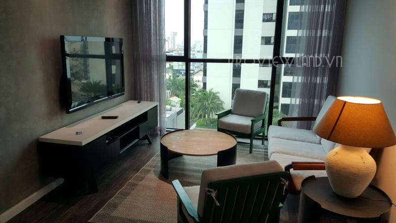 Cần cho thuê căn hộ The Ascent diện tích 68m2 view hồ bơi gồm 2 phòng ngủ