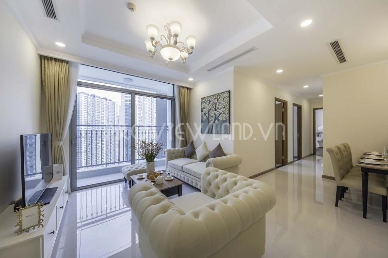 Vinhomes Central Park cho thuê căn hộ tại toà Landmark Plus với 3 phòng ngủ