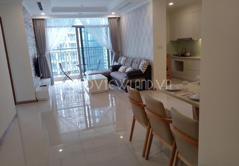 Căn hộ Vinhomes Tân Cảng cho thuê tại Landmark 6 diện tích 150m2 4 phòng ngủ