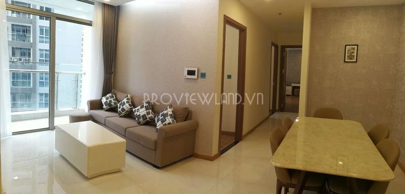 Cho thuê căn hộ Vinhomes Central Park 3 phòng ngủ có diện tích 115m2 view đẹp