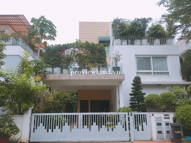 Cho thuê biệt thự Villa Riviera Quận 2 diện tích 450m2 nội thất cao cấp có sân vườn