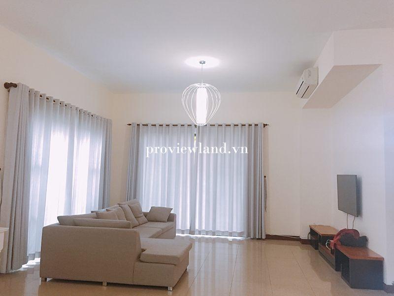 Cho thuê biệt thự 1 trệt 2 lầu diện tích 450m2 tại Villa Riviera An Phú