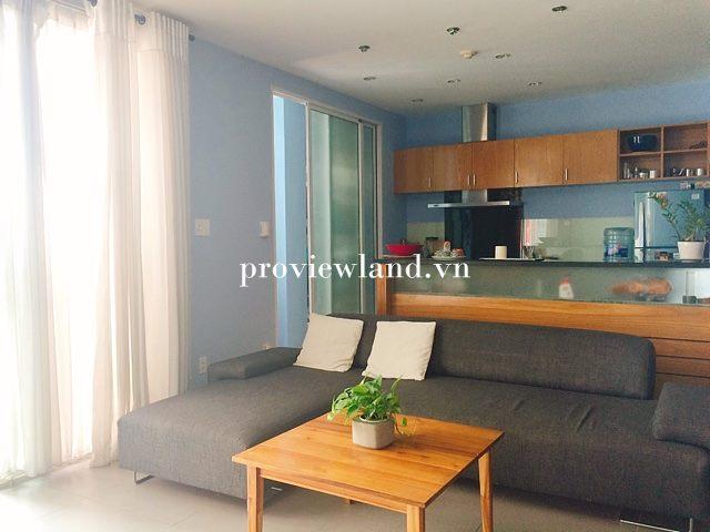 Cho thuê căn hộ Fideco Thảo Điền 3 phòng ngủ full diện tích 140m2