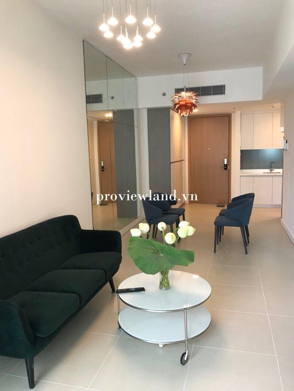 Căn hộ GateWay Thảo Điền cần cho thuê căn 1 phòng ngủ full nội thất