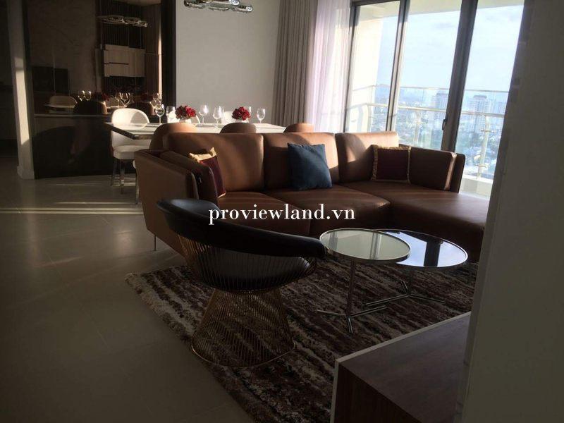 Cho thuê căn hộ Gateway Thảo Điền 4 phòng ngủ 144m2 full nội thất