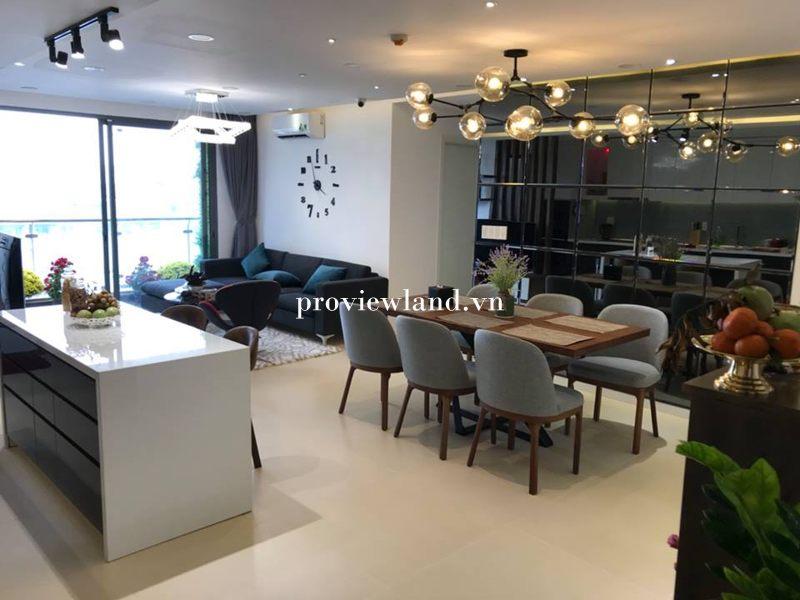 Bán căn hộ The Gold View Quận 4 3 phòng ngủ 117m2 nội thất cực đẹp