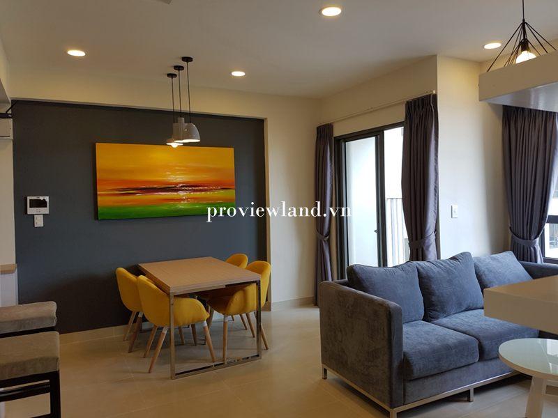 Cần cho thuê căn hộ Masteri Thảo Điền 2 phòng ngủ nội thất đẹp view thoáng mát