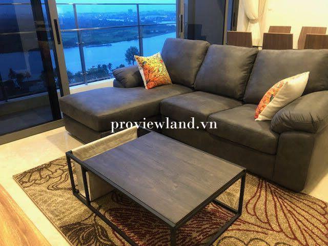 Cho thuê căn hộ 3 phòng ngủ diện tích 125m2 view sông Tại Nassim Thảo Điền