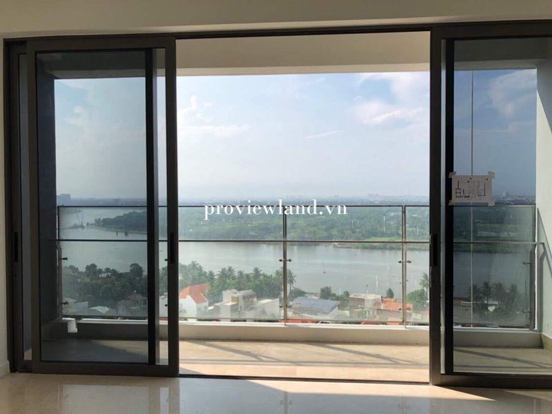 Cho thuê căn hộ 3 phòng ngủ 125m2 view sông Tại The Nassim Quận 2