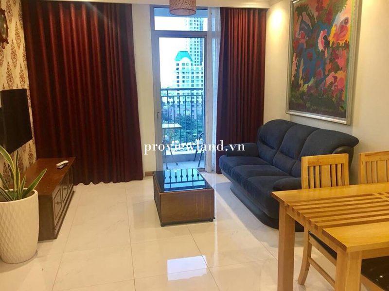Căn hộ dịch vụ cho thuê 2 phòng ngủ diện tích 80m2 tại tháp The central 3 Vinhome Central park