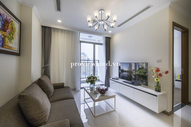Cho thuê căn hộ dịch vụ 1 phòng ngủ tại Tòa Tháp Landmark Plus Vinhomes Central Park