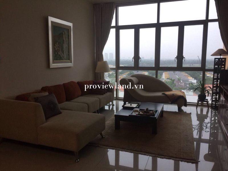 Cho thuê căn hộ The Vista 3 phòng ngủ đầy đủ nội thất view sông