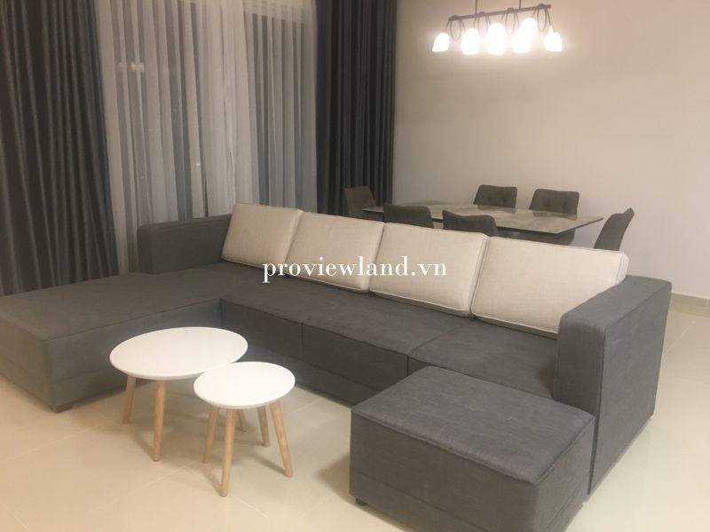 Cho thuê căn hộ Vista Verde 3 phòng ngủ full nội thất view sông
