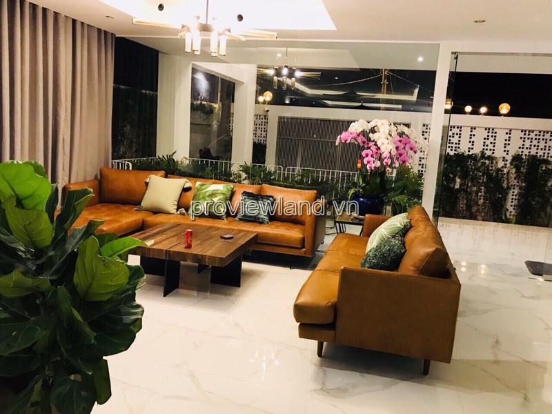 Bán biêt thự tại Thảo Điền 1 trệt 2 lầu diện tích 340m2 có sổ hồng gồm 5PN