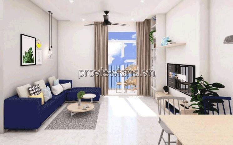 Bán căn hộ 2 phòng ngủ Palm Heights tầng cao vút diện tích 77m2